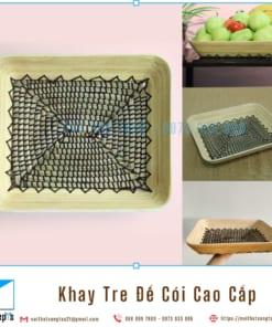 Khay Tre Day Coi Tu Nhien Khay Trang Tri De Trai Cay bang Tre Ep va Coi Khay Go Decor 36x30x6 3 noithatsangtao2t