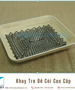 Khay Tre Day Coi Tu Nhien Khay Trang Tri De Trai Cay bang Tre Ep va Coi Khay Go Decor 36x30x6 6 noithatsangtao2t