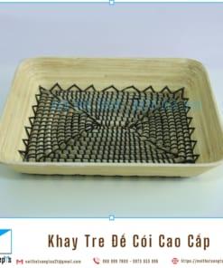 Khay Tre Day Coi Tu Nhien Khay Trang Tri De Trai Cay bang Tre Ep va Coi Khay Go Decor 36x30x6 7 noithatsangtao2t