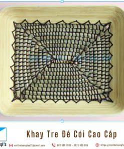 Khay Tre Day Coi Tu Nhien Khay Trang Tri De Trai Cay bang Tre Ep va Coi Khay Go Decor 36x30x6 9 noithatsangtao2t